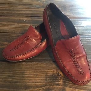 Cole Haan Dark Red Loafer Flats